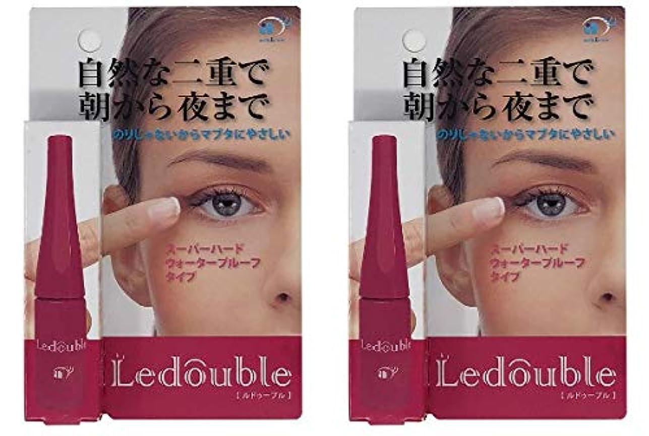敏感なサワースカイLedouble [ルドゥーブル] 二重まぶた化粧品 (4mL)×2個セット
