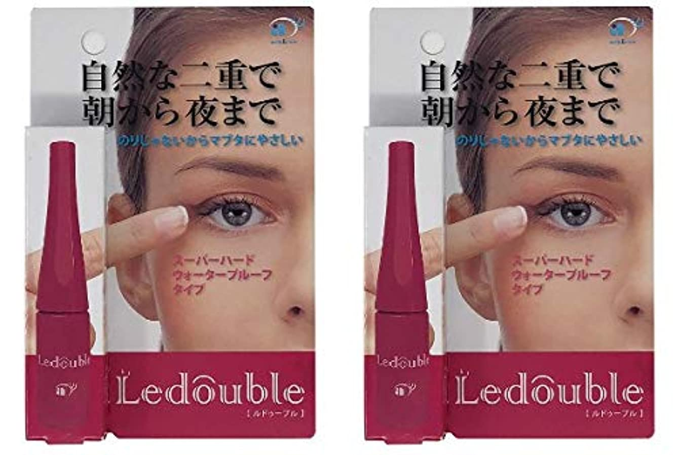 季節研究所老人Ledouble [ルドゥーブル] 二重まぶた化粧品 (4mL)×2個セット