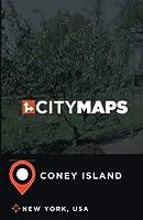 City Maps Coney Island New York, USA