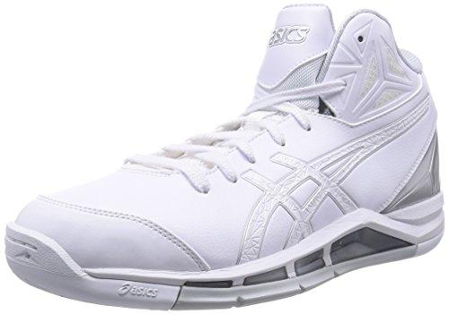 [アシックス] バスケットシューズ GELTRIFORCE 2 TBF325 0101ホワイト/ホワイト 27.5 (現行モデル)