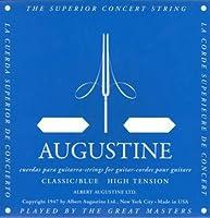AUGUSTINE BLUE SET×4セット オーガスチンクラシックギター弦 ブルー