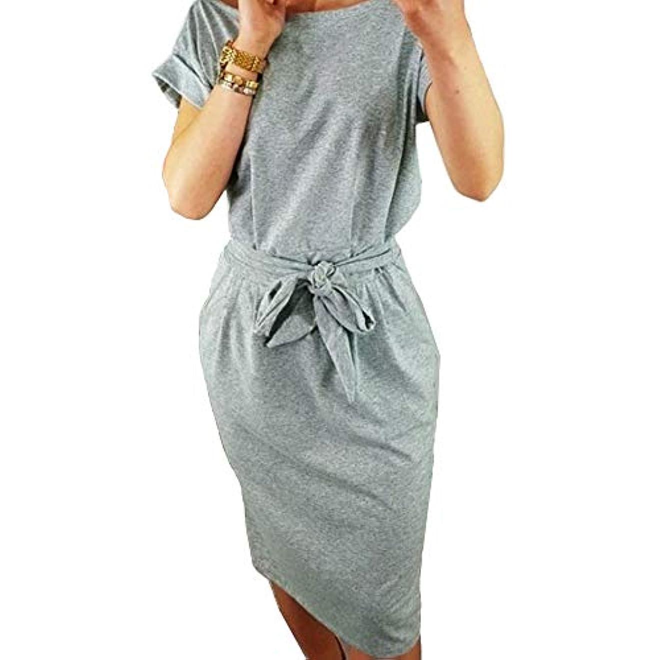 克服する再生切り離すMIFAN女性のドレス、ポケットドレス、パーティードレス、セクシーなドレス、サマードレス、oネック、ルースドレス