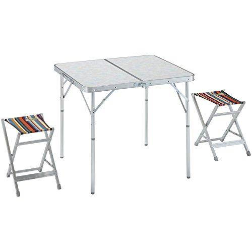ロゴス スツールテーブルセット2