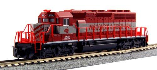 ■ KATO/カトー (176-4815) SD40-2 Early ウィスコンシン&サザン #4006 鉄道模型 Nゲージ