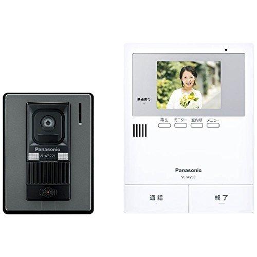 パナソニック(Panasonic) カラーテレビドアホン 電源コード式 VL-SV38KL