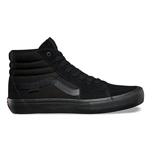 VANS バンズ 【Sk8-Hi Pro】 BlackOut 8inch (26cm) スケート スケシュー 靴 キッズ KIDS レディース メンズ スケートハイ スケハイ プロ