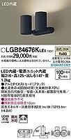 パナソニック(Panasonic) スポットライト LGB84676KLE1 調光不可 温白色 ブラック
