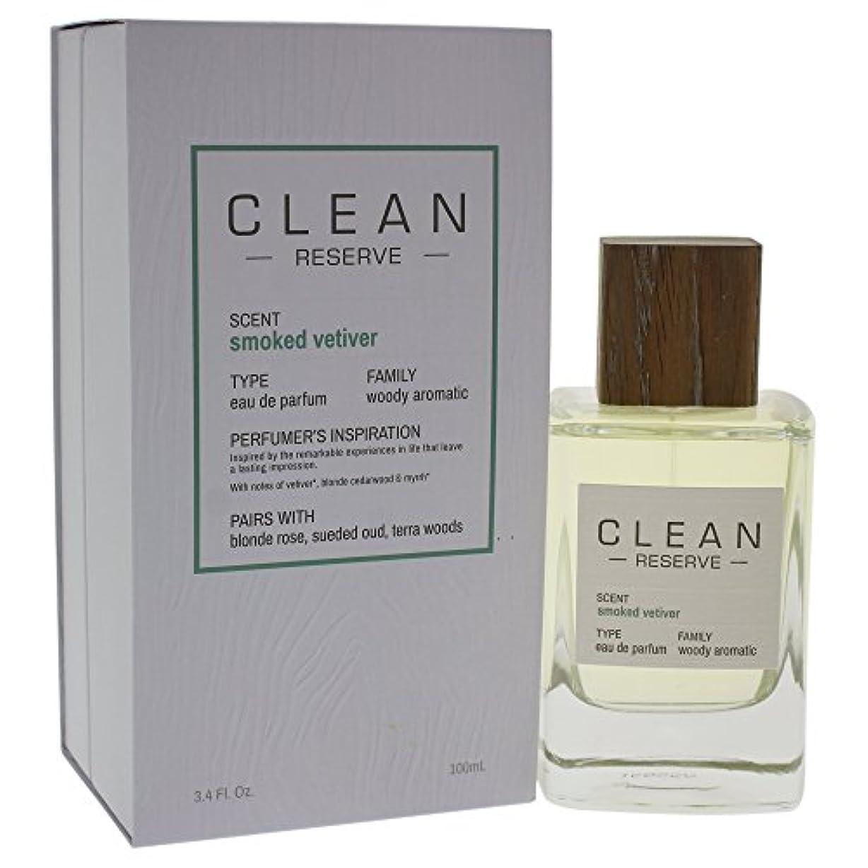 開業医損なう聡明◆【CLEAN】Unisex香水◆クリーン リザーブ スモークベチバー オードパルファムEDP 100ml◆