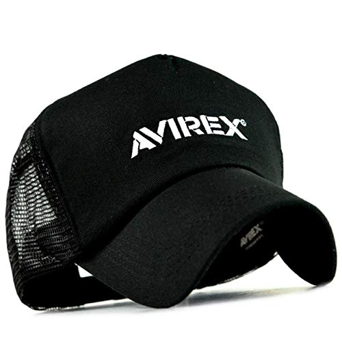 メッシュキャップ メンズ AVIREX 限定 ブラックシリーズ アビレックス 帽子 キャップ メンズ レディース ブランド アビレックス アヴィレックス かっこいい プレゼント 贈り物 プチギフト 誕生日 プレゼント
