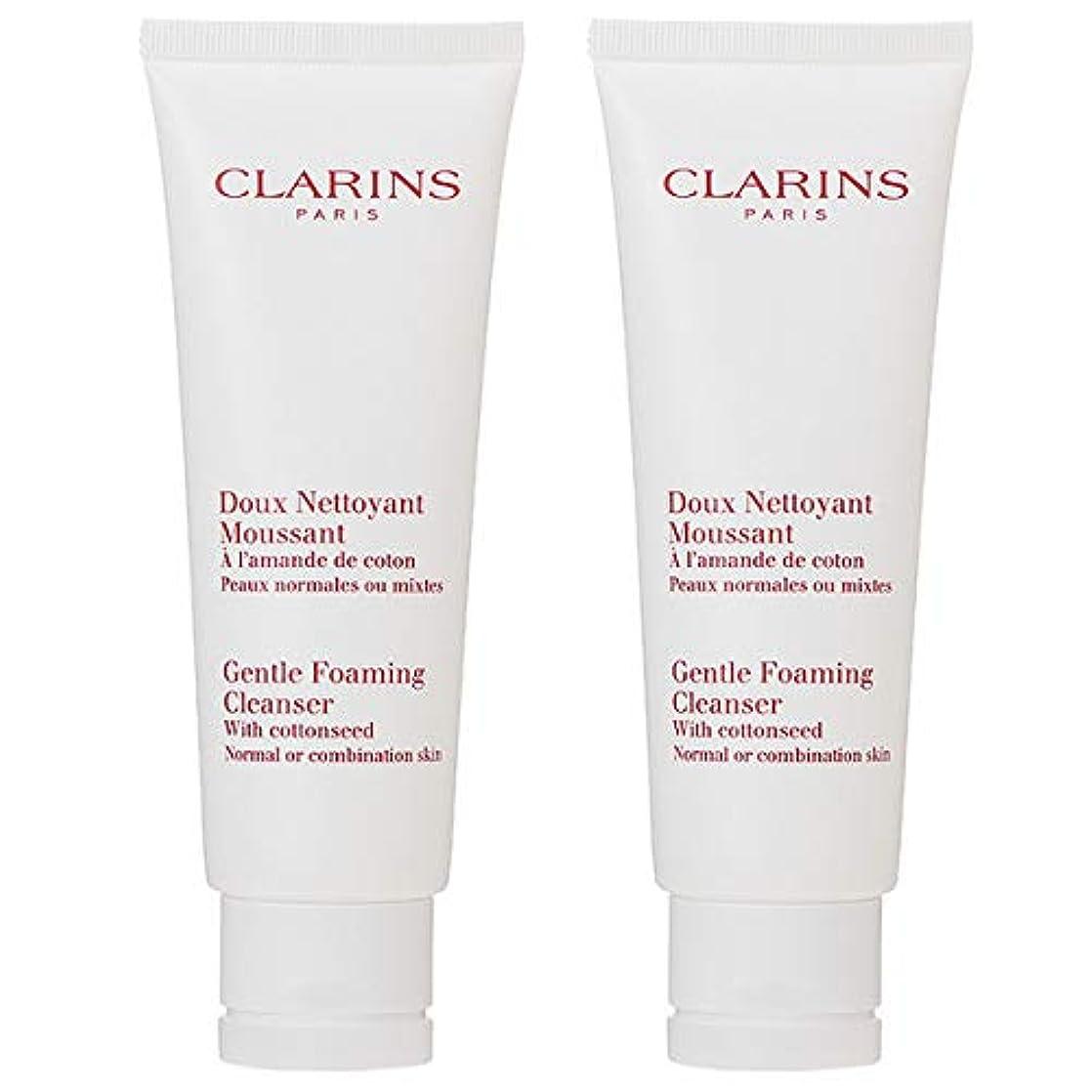 加入確保するコスト【セット】 クラランス CLARINS ジェントル フォーミング クレンザー ノーマル/コンビネーション 125mL 2本セット [並行輸入品]