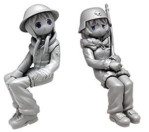 プラッツ 少女終末旅行 ケッテンクラート w/チト&ユーリ フィギュア2体セット 1/35スケール プラモデル GLT-01