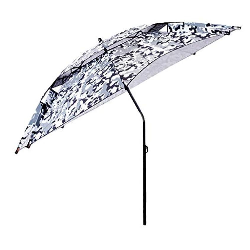 トチの実の木醜い動揺させる太陽傘アルミ合金オックスフォード回転日焼け止め雨折りたたみ傘屋外サンシェード傘 (サイズ さいず : Diameter2.0m)