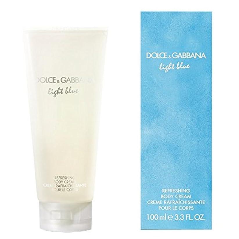 小康パキスタン確認するドルチェ&ガッバーナライトブルーの爽やかなボディクリーム200ミリリットル (Dolce & Gabbana) (x6) - Dolce & Gabbana Light Blue Refreshing Body Cream...