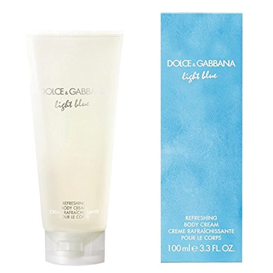 対処するびんアプライアンスドルチェ&ガッバーナライトブルーの爽やかなボディクリーム200ミリリットル (Dolce & Gabbana) - Dolce & Gabbana Light Blue Refreshing Body Cream 200ml...