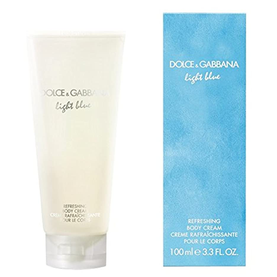 侵略増幅節約するドルチェ&ガッバーナライトブルーの爽やかなボディクリーム200ミリリットル (Dolce & Gabbana) (x6) - Dolce & Gabbana Light Blue Refreshing Body Cream...