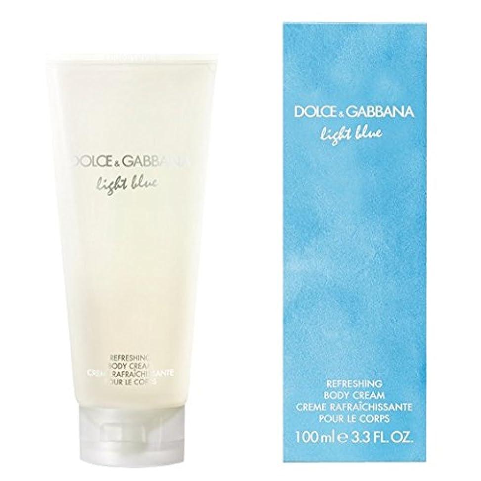 アルバムどっち風ドルチェ&ガッバーナライトブルーの爽やかなボディクリーム200ミリリットル (Dolce & Gabbana) (x2) - Dolce & Gabbana Light Blue Refreshing Body Cream...
