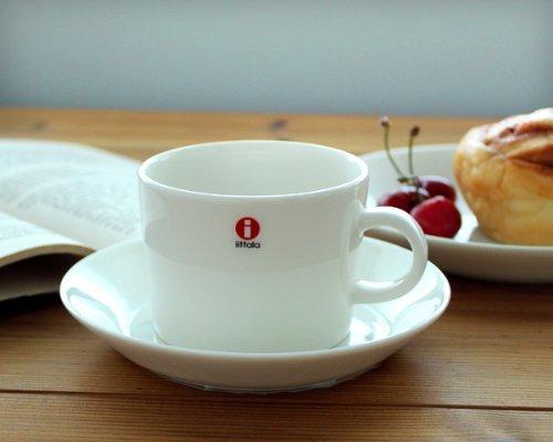 iittala(イッタラ) ティーマ ティー/コーヒー(兼用) カップ&ソーサー 220ml ホワイト 【並行輸入品】