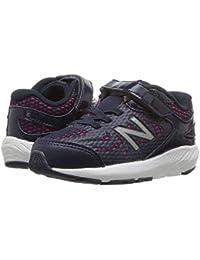 [new balance(ニューバランス)] キッズランニングシューズ??スニーカー?靴 KV519v1I (Infant/Toddler) Pigment/Pink Glo 9.5 Toddler (16.5cm) W