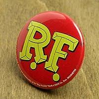 ラットフィンク(RAT FINK) 缶バッチ ロゴ_BC-RA107RF-MON
