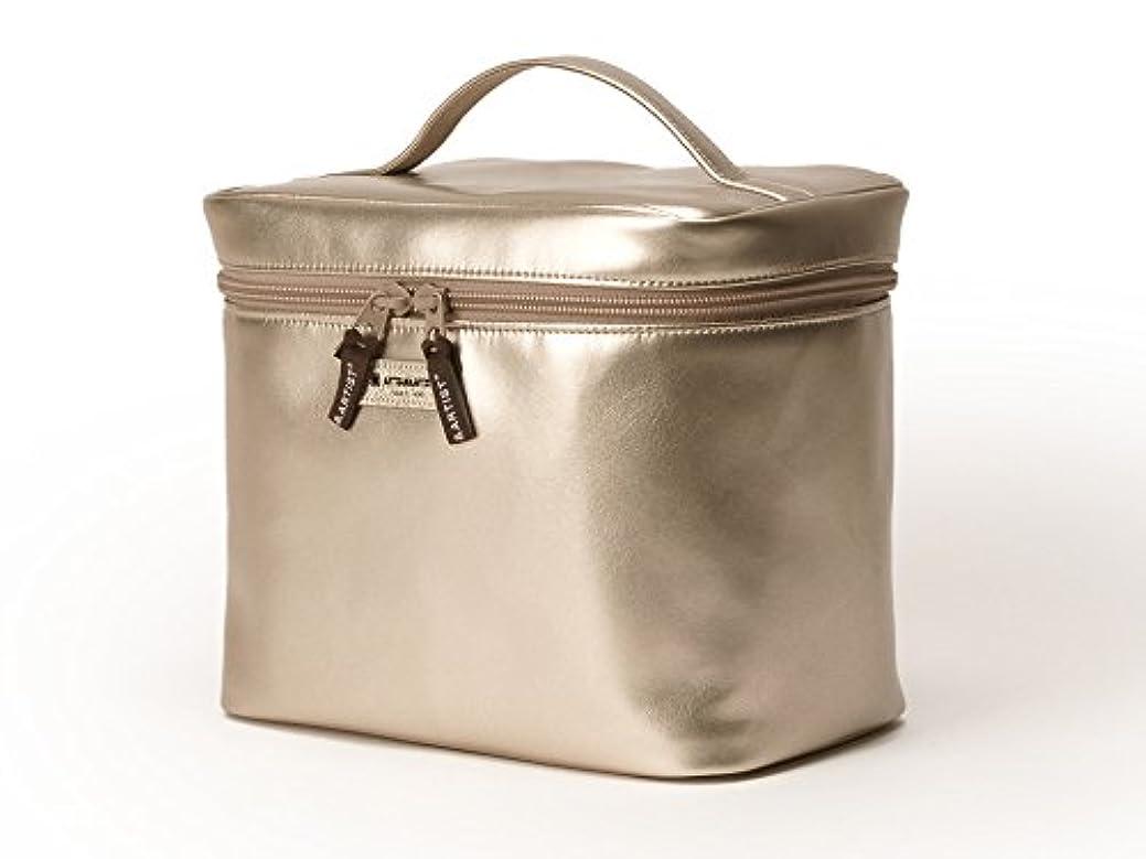 カート光沢のある摂動[アルティザン&アーティスト] バニティケース<Daily Gold(デイリーゴールド)> 8WP-PT13 ゴールド