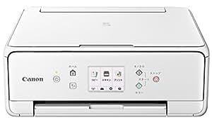Canon インクジェットプリンター複合機 TS6030 WH ホワイト