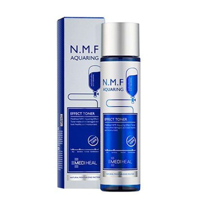 メディヒール Mediheal N.M.F アクアリング エフェクト トナー NMF Aqua Ring Effect Toner 165ml [並行輸入品]