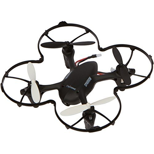『Helizone Sparrow Mini Drone with 2 MP HD Camera Quadcopter For Video Recording with 4 GB Card, Headless Mode 3 Speed 2.4 Ghz 6 Axis Gyro with Bonus Propeller Guard Great for Beginners』のトップ画像