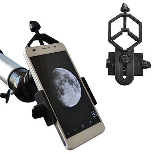 SOLOMARK ユニバーサル携帯電話のアダプタマウントは - iPhoneのソニーサムスンモト用など - - 両眼単眼スポッティングスコープ望遠鏡と顕微鏡との互換性の世界の自然を記録します フィット接眼レンズ径28mm-47mm