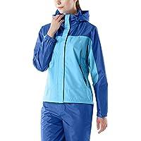 Tesla Women's Lightweight Water-Proof Raincoat/Jacket & Trouser Suit