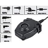 【Z-TAC】Z-Tactical PTTスイッチ PELTORタイプレプリカ (ICOM/YAESUなど7種類) 無線機関連 特殊部隊 装備 サバゲー コスプレ タクティカル パーツ Z112 (ICOM)