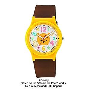 [シチズン キューアンドキュー]CITIZEN Q&Q 腕時計 ディズニーコレクション TSUMTSUM 【プー】アナログ 10気圧防水 HW00-011 ガールズ