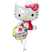 キティの風船の贈り物