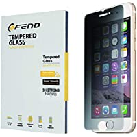 iPhone 8/7 用 アイフォン 6S覗き見防止強化ガラス 液晶保護プライバシー フィルム薄いグレー 影響しない画面輝度 超薄型左右180°【気泡防止/耐衝撃/自己吸着/3D Touch対応 / 硬度9H / 飛散防止】