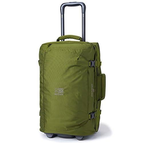 (カリマー) karrimor Clamshell 40 オリーブ キャリーバッグ クラムシェル 40リットル スーツケース 黒 Olive