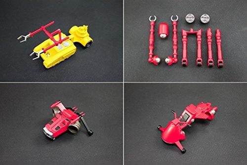 ダイナマイトアクション!  ストロングザボーガー&合体マシンセット 限定カラー版 ノンスケール ABS&PVC製 塗装済み 完成品