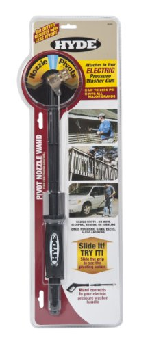 Hyde Tools 28420 2000 PSI 18-Inch Electric Pivot Nozzle Pressure Washer Wand by Hyde Tools