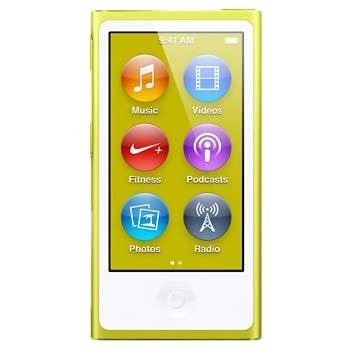 Apple iPod nano 16GB イエロー MD476J/A <第7世代>
