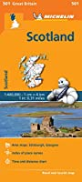 Scotland - Michelin Regional Map 601 (Michelin Regional Maps)