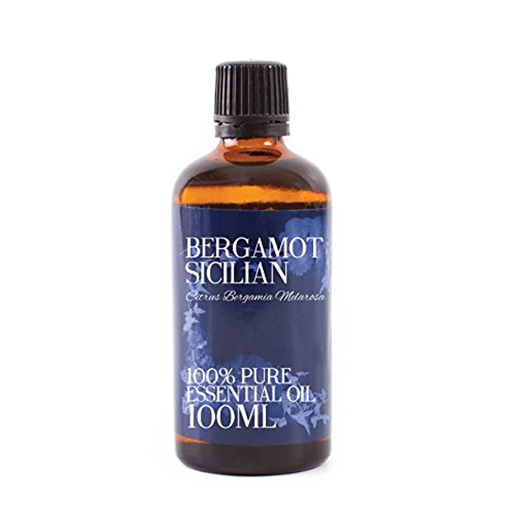 海峡ひも欺く然としたMystic Moments | Bergamot Sicilian Essential Oil - 100ml - 100% Pure