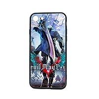 人気限定☆Dante (Devil May Cry) Apple Iphone 7/7S/8/8S 通用携帯のケース カップル用ガラスのスマホケース 4.7in アイホン7 Iphone8電話カバー 男女兼用 二次元新品まんが周辺保護殻 高品質便利 Chic贈り物