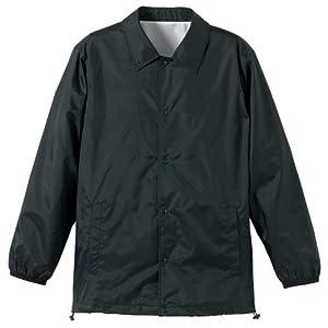 (ユナイテッドアスレ)UnitedAthle ナイロン コーチ ジャケット(裏地付) 705901 [メンズ] 002 ブラック S