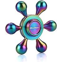 MixMart ハンドスピナー 水道 4~7分回転 6枚翼 Hand Spinner 高速回転 真鍮 暇つぶし セラミックのボールベアリング