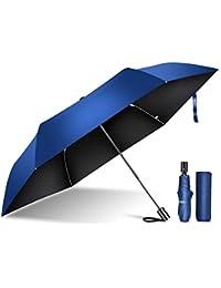 TSUNEO 日傘 折りたたみ傘 UVカット率99.9% 紫外線対策 6本骨 自動開閉 梅雨対策 晴雨兼用 台風 超撥水 軽量 折り畳み日傘 レディース メンズ 210T高密度NC布