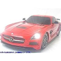 RASTAR◇メルセデスベンツSLS AMG◇ライセンス正規認証車1/18ラジコンカーRC/レッド