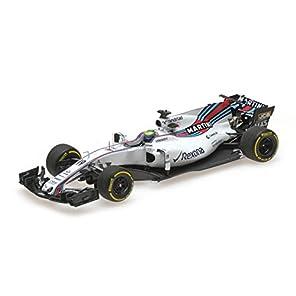 ☆ ミニチャンプス 1/43 ウィリアムズ マルティニ レーシング メルセデス FW40 2017 F1 オーストラリアGP #19 F.マッサ 【レジン製】