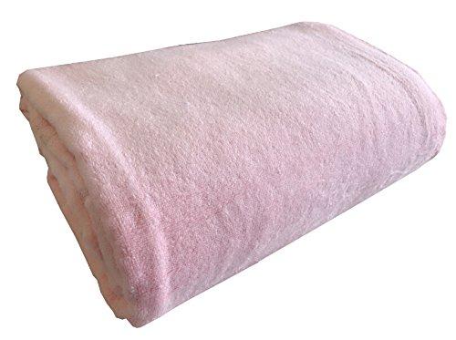 surprise 綿100% 無地 タオルケット ボリュームタイプ シングル サイズ(140×190cm) (ピンク)
