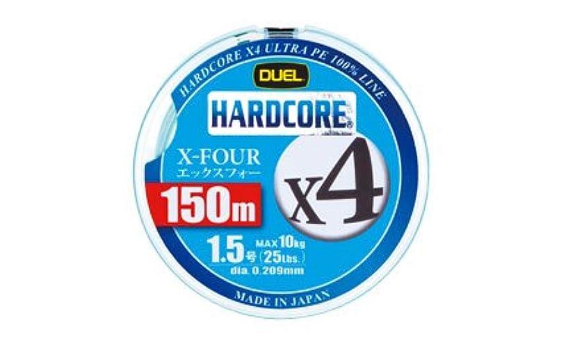 ギャングスター勝利かけるデュエル ハードコアX4 150m 1.0号 ホワイト (du-436294)