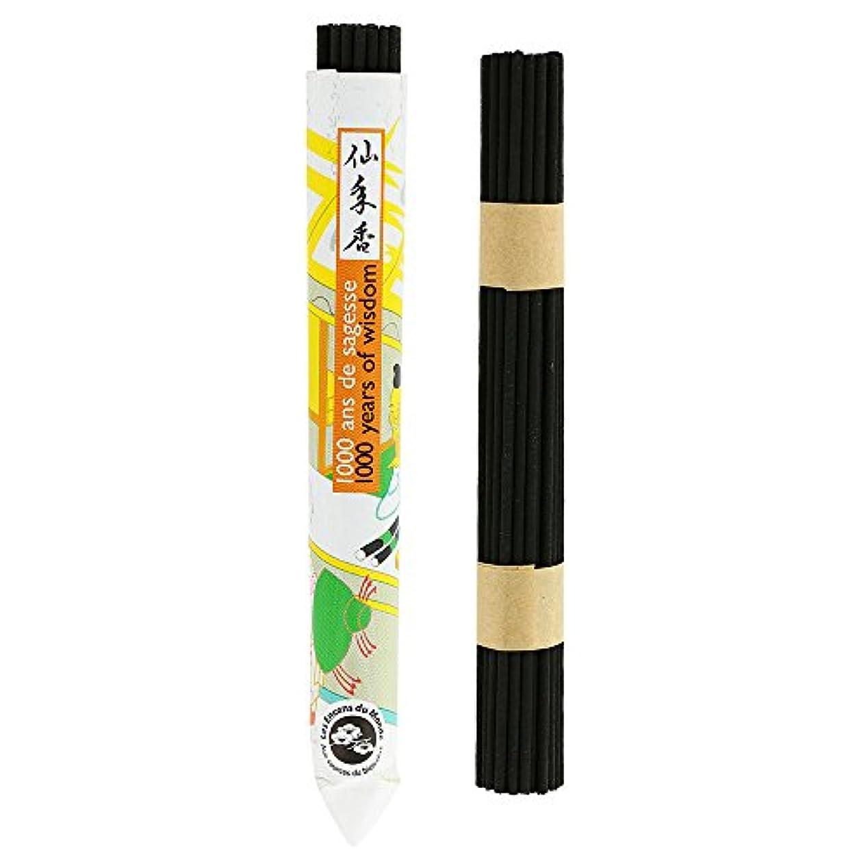 隠レビュー牧草地Japanese Incense – 1000年の知恵のShort Roll