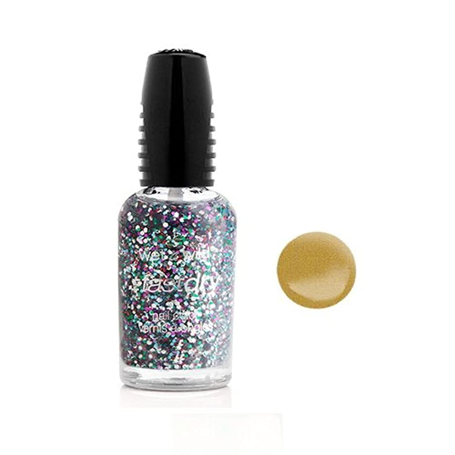 ハッピー台無しにイベント(6 Pack) WET N WILD Fastdry Nail Color - The Gold & the Beautiful (DC) (並行輸入品)