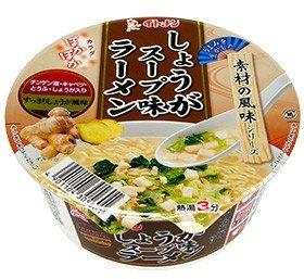 イトメン カップ しょうがスープ味ラーメン 74g×24個入